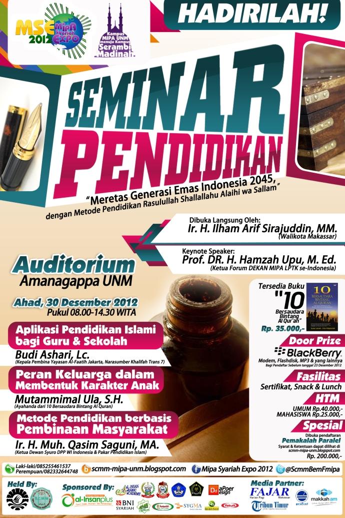 Seminar Pendidikan MSE 2012